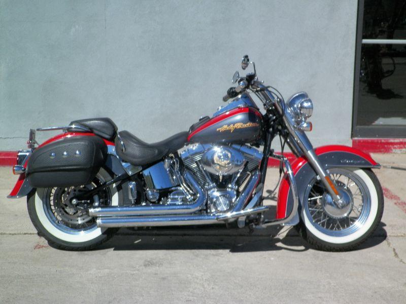 SOLD: 2006 Harley-Davidson FLSTNI Softail Deluxe