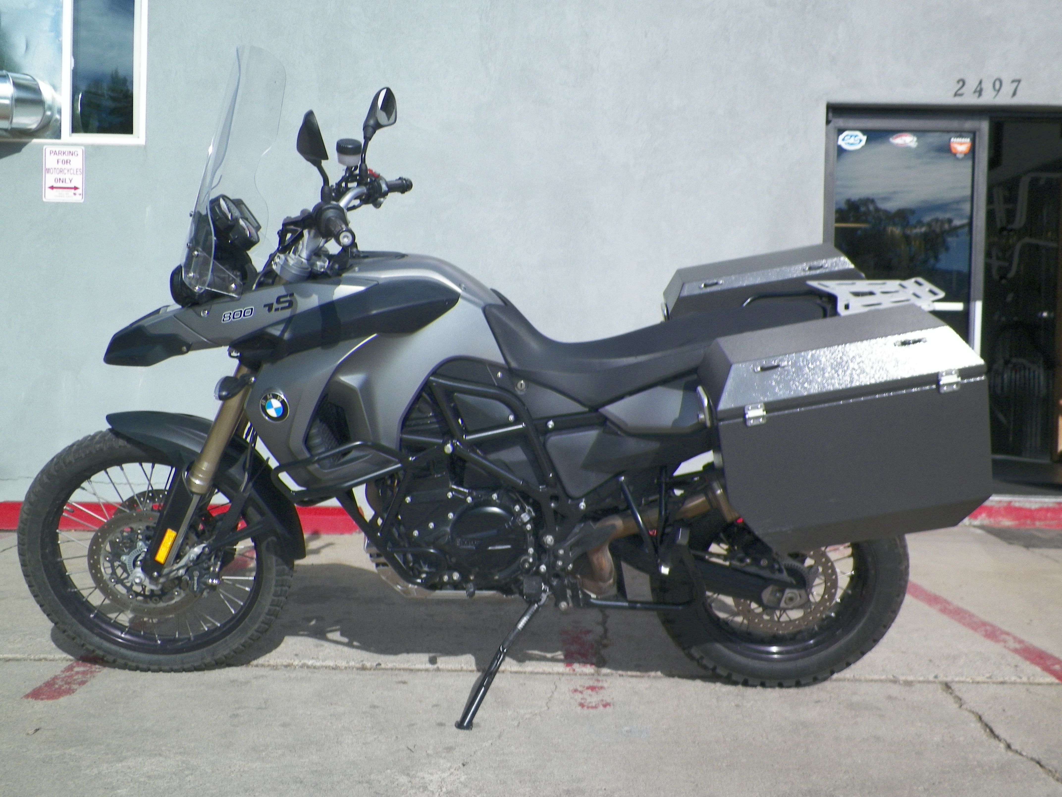 2009 F800gs Seat Height